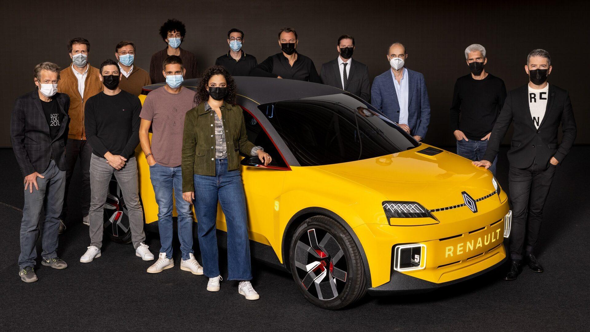 El Renault 5 Prototype, galardonado con el premio 'Concept-Car of the Year'