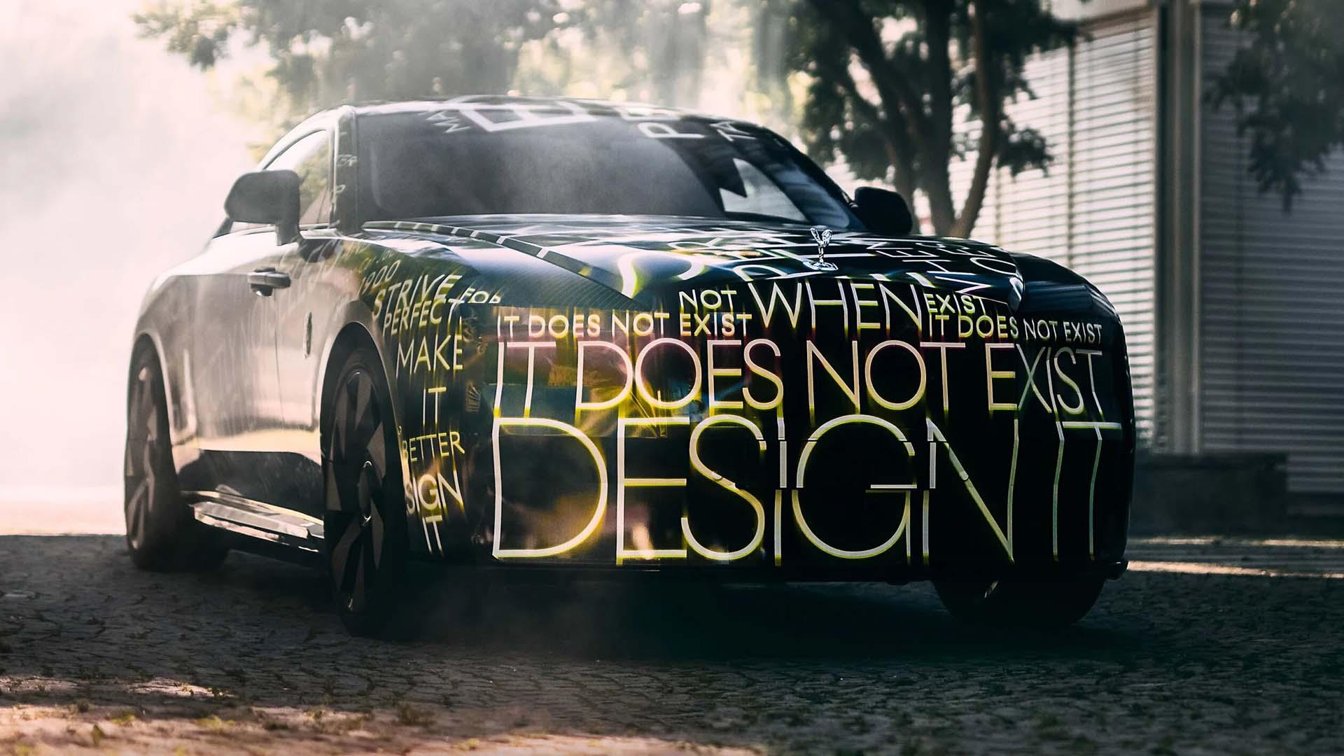 Primeras imágenes del Rolls Royce Spectre 100% eléctrico