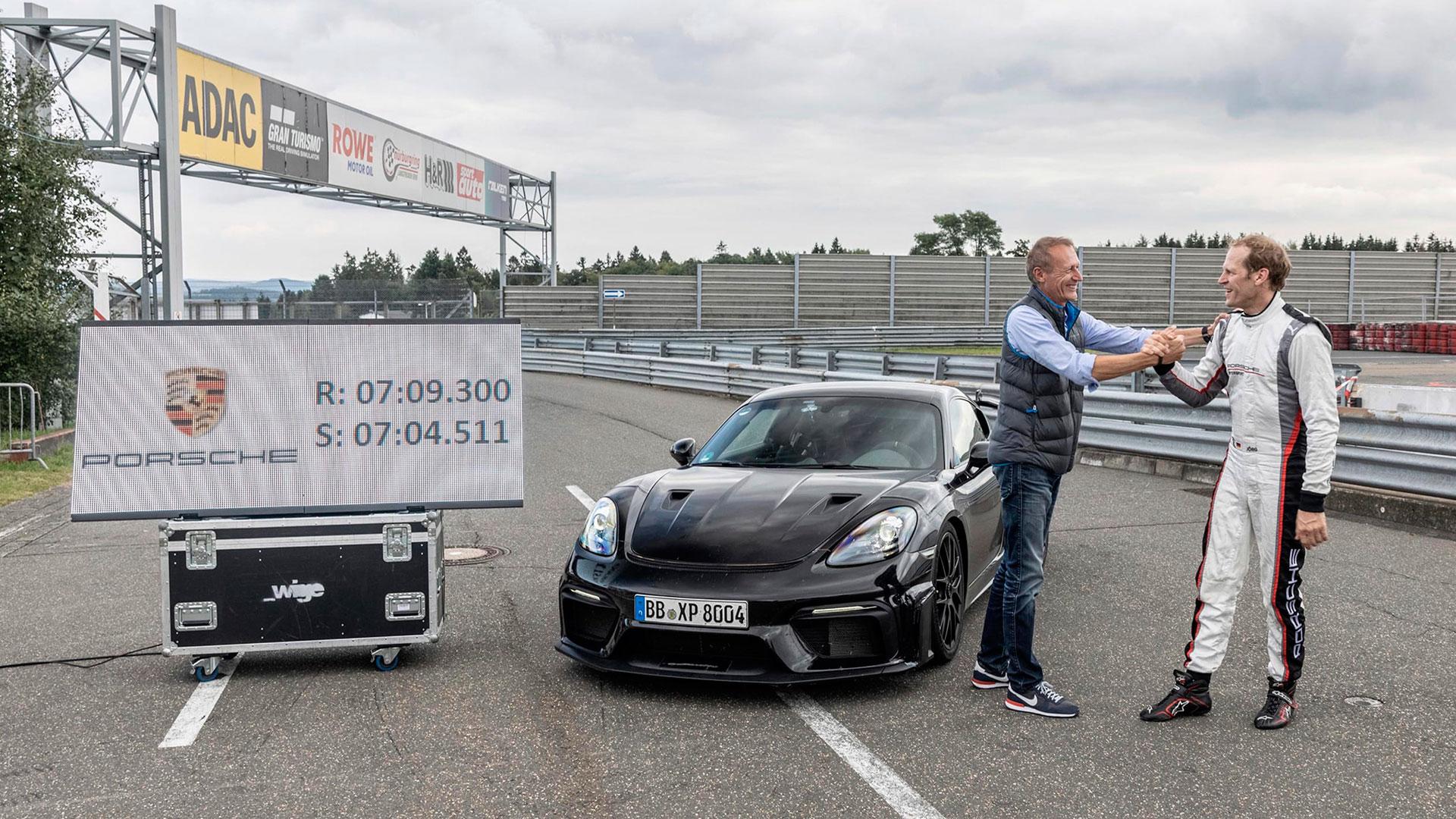 El Porsche 718 Cayman GT4 RS: confirmado con un tiempazo en Nürburgring de 7:04.5 segundos