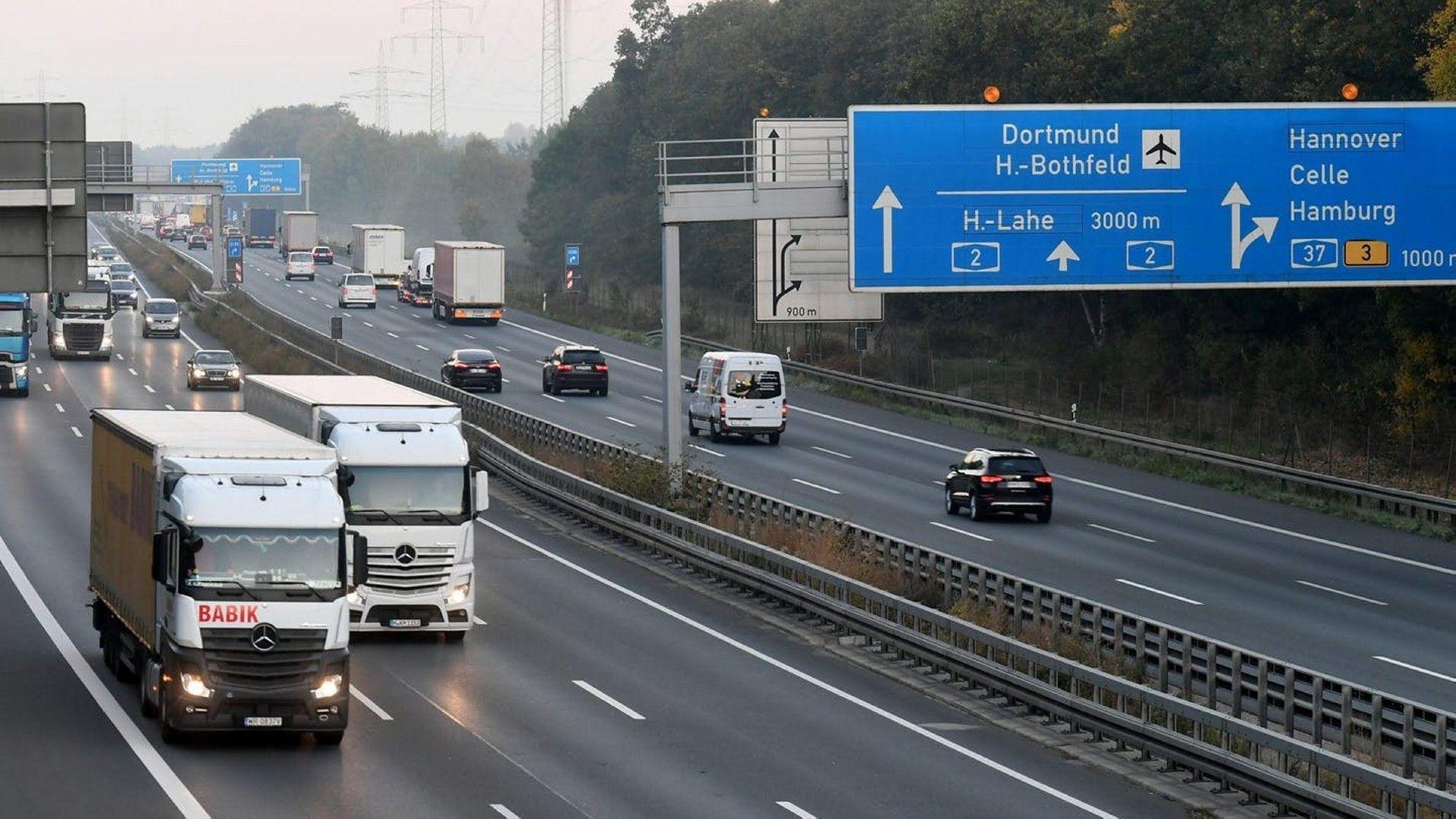 limite de velocidad Autobahn