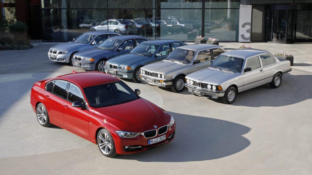 BMW Serie 3 generaciones