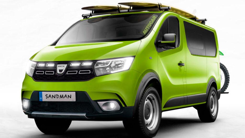 Dacia Sandman, un concepto de camper low-cost para los más aventureros