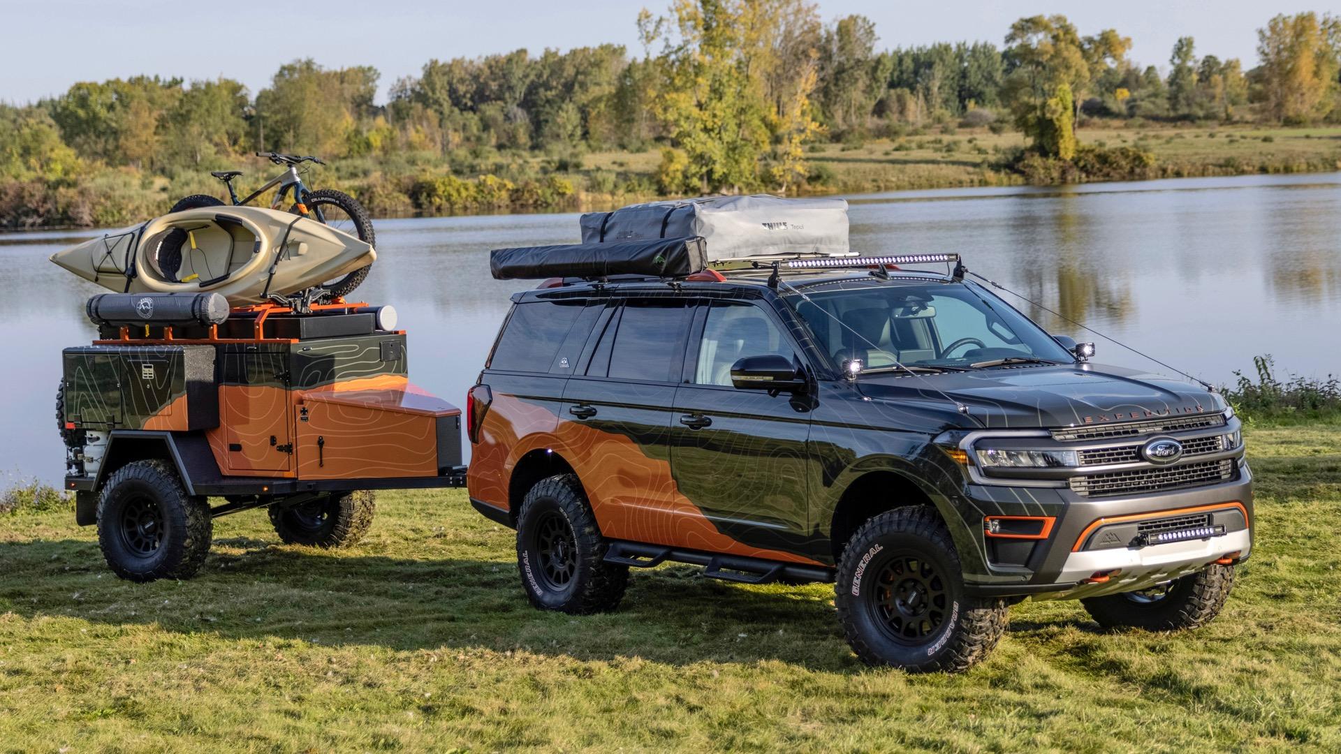Ford Expedition Timberline Off-Grid Concept: así imagina Ford el camper de tus sueños