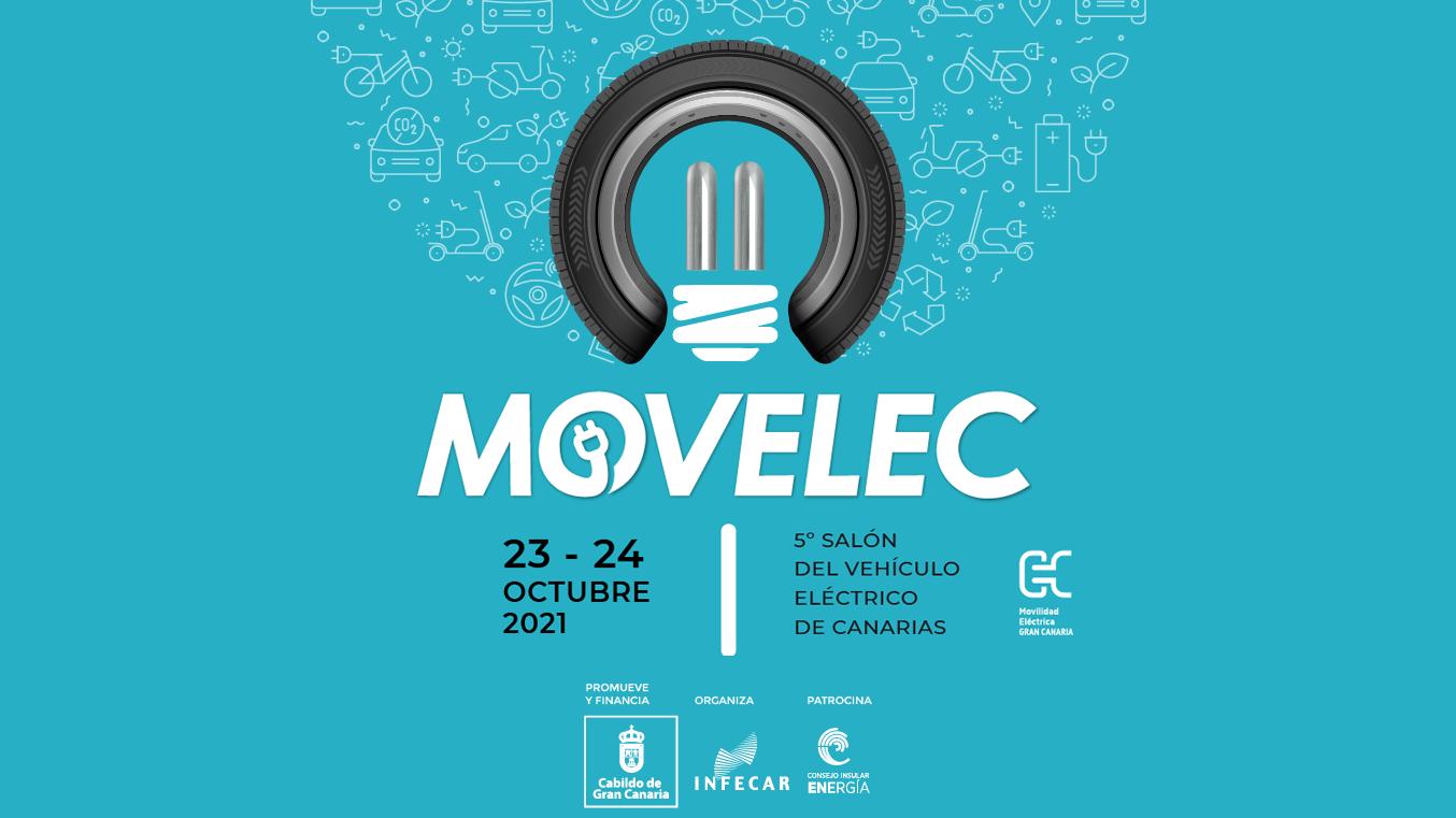 Quinto Salón del Vehículo Eléctrico de Canarias MOVELEC