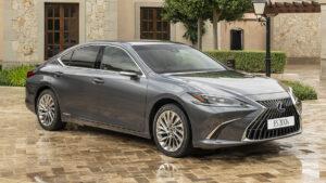 Lexus ES 2021 restyling
