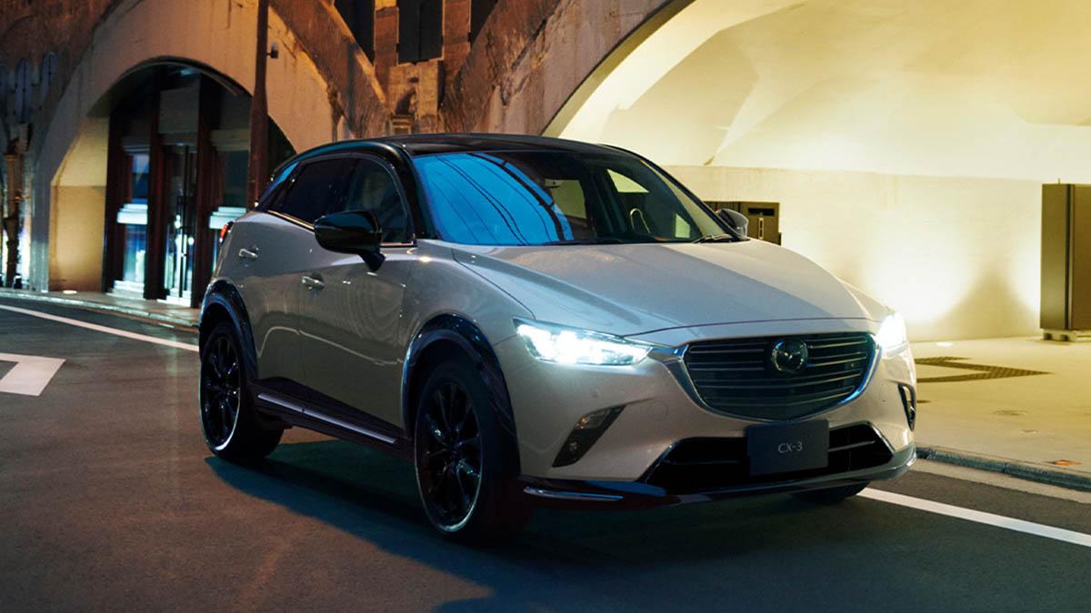 """Mazda CX-3 2022: nuevo acabado """"Super Edgy"""" con pintura bitono"""