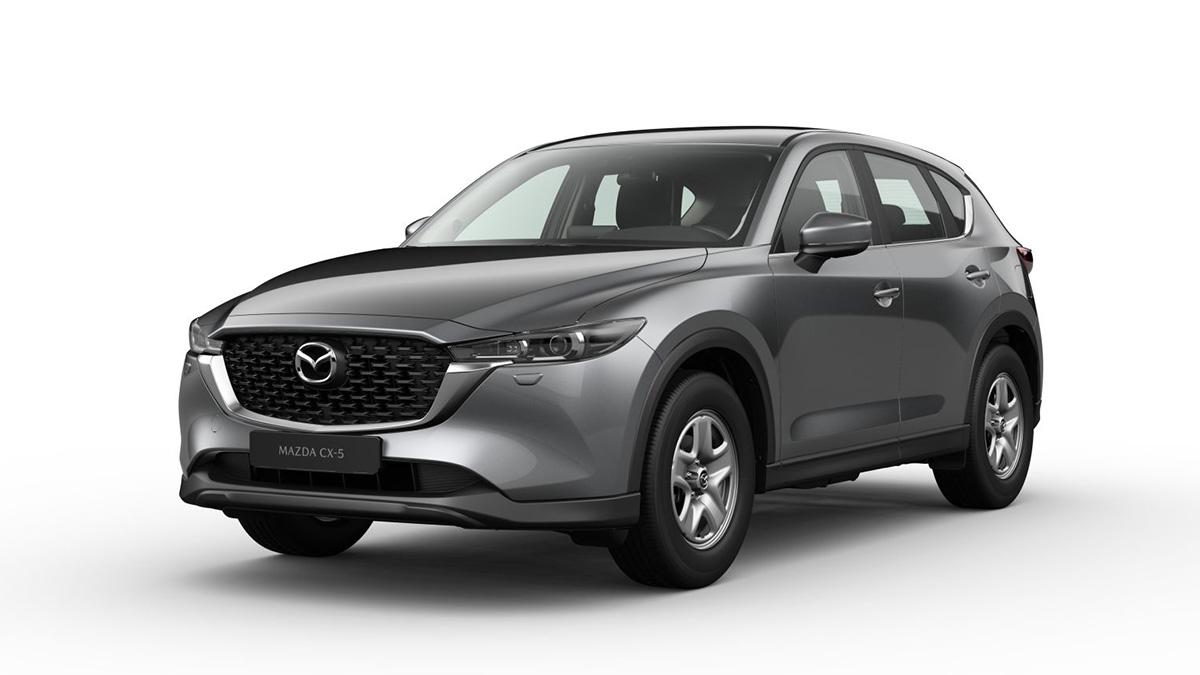 Nuevo Mazda CX-5 2022: ¡el restyling desvela su versión de acceso!