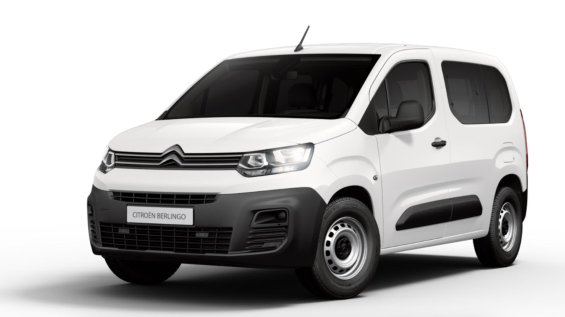 El Citroën Berlingo con motor diésel de 100 CV en oferta, por 145 euros al mes