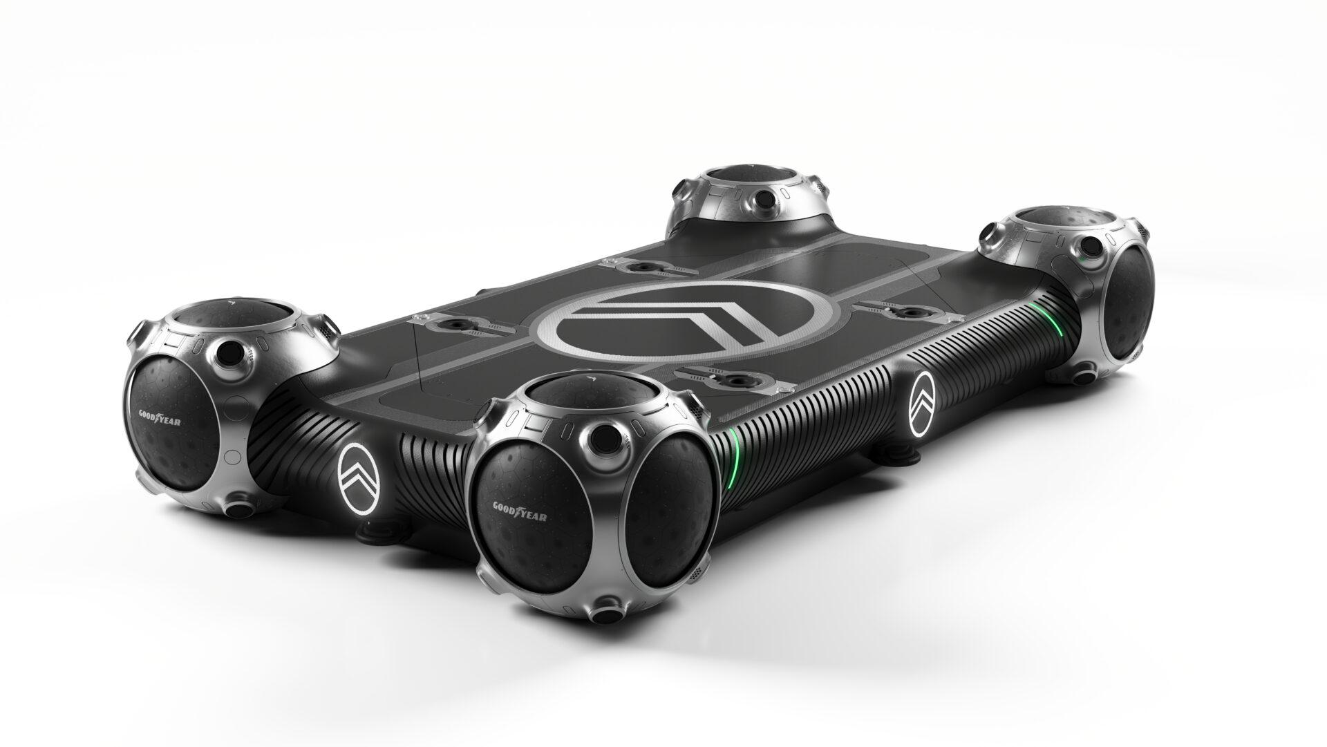 Goodyear y Citroën se asocian para desarrollar los neumáticos de las futuras formas de movilidad autónoma