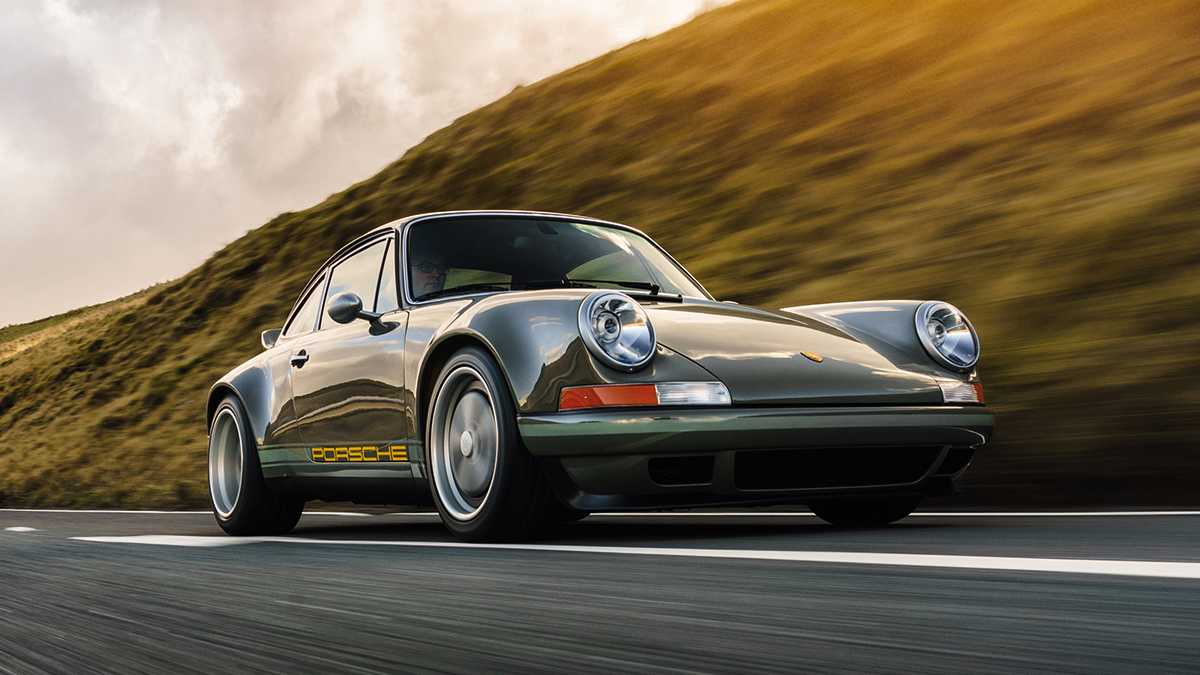 Prueba Porsche 911 Theon Design 2021: una joya de granero
