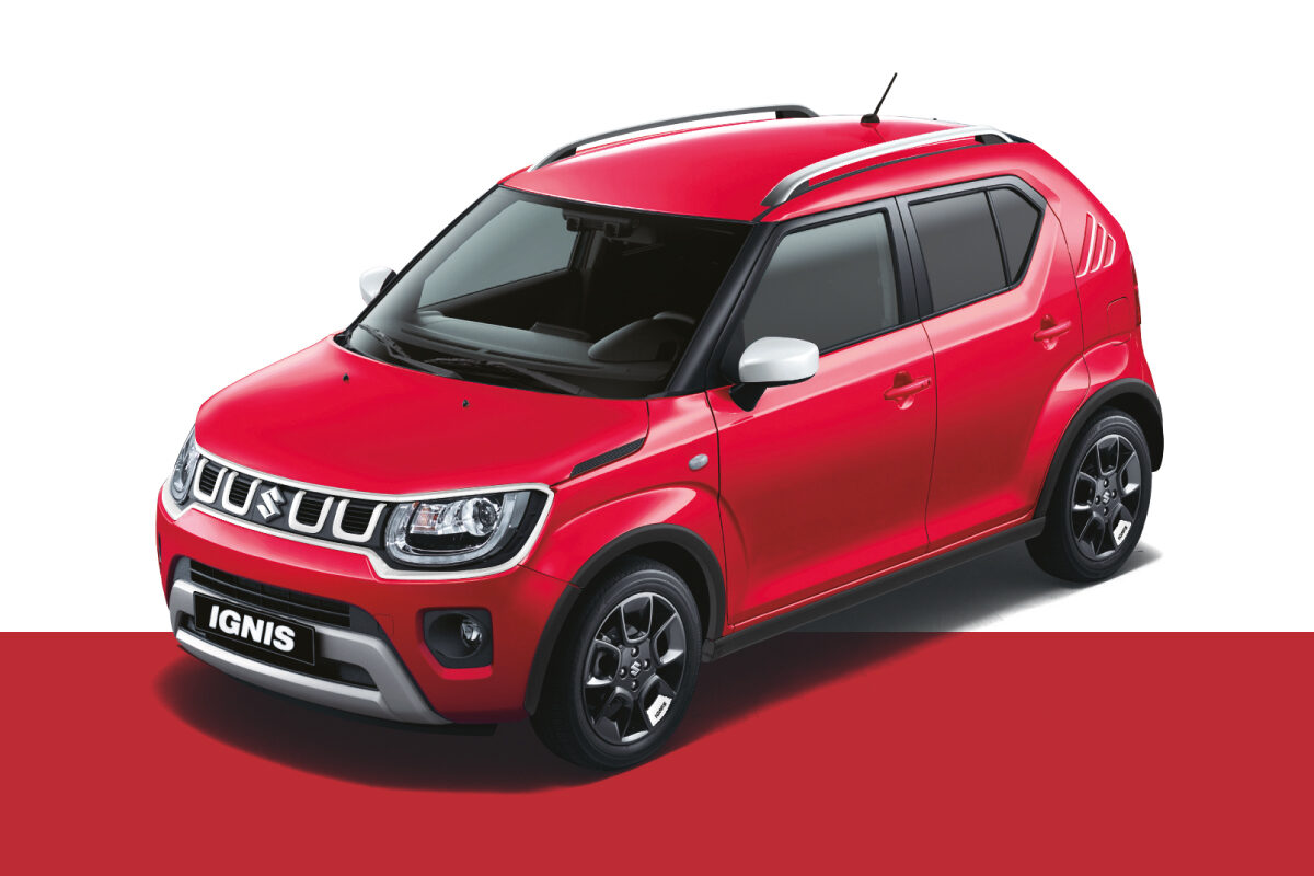 Suzuki Ignis Red & White