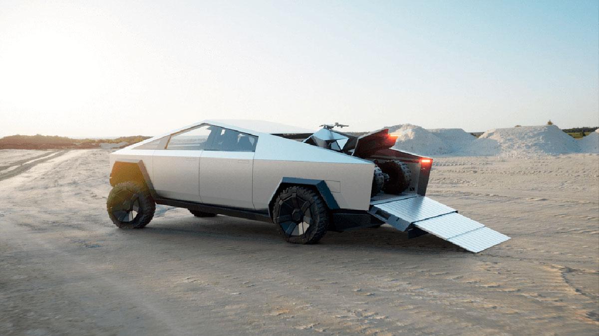 Tesla Cyberquad: un ATV 100% eléctrico como complemento para el Cybertruck
