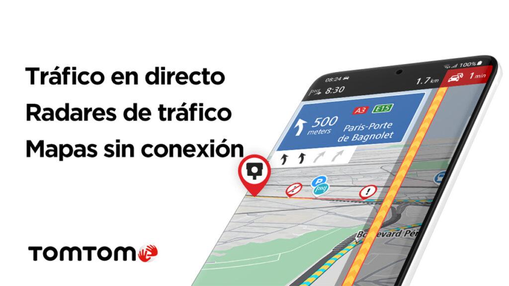 TomTom Go Navigation: la app para convertir tu smartphone en el navegador definitivo