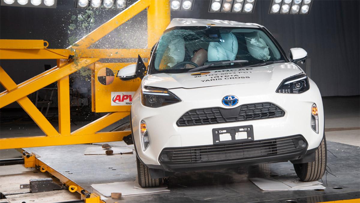 Toyota Yaris Cross 2022… ¡y sus resultados en el test de choque!
