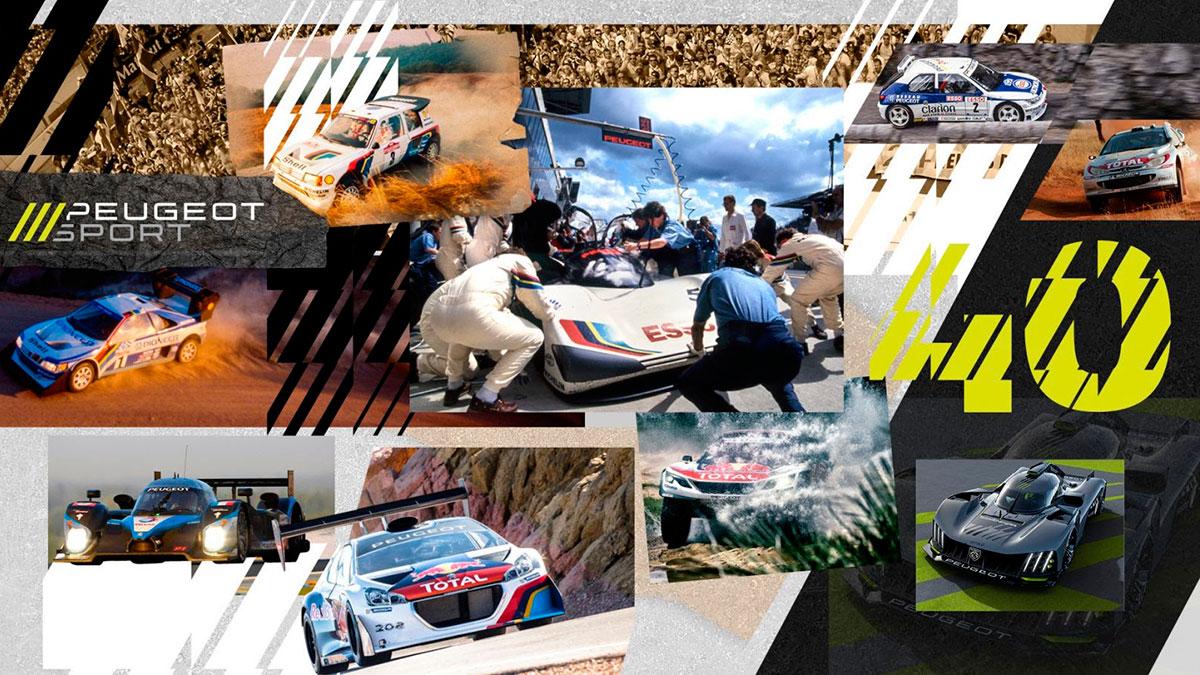 Peugeot Sport: 40 años de innovación y éxitos en competición