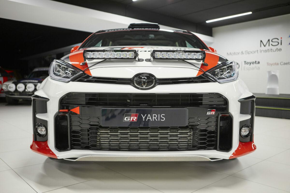 Toyota GR Yaris de competición
